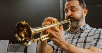 Markus Rutz, jazz trumpet player based in Chicago.